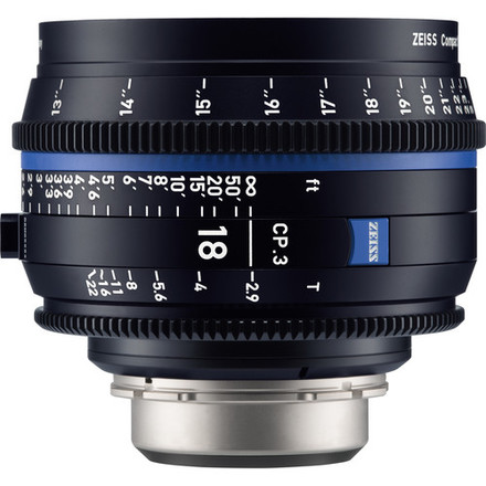 Zeiss Compact Prime CP.3 T* 18mm f/2,9 pro Sony